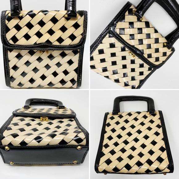 Vintage Handbags - VTG I. Miller Patent Leather Handbag